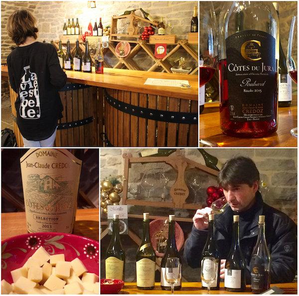 Jura wijnen proeven in Franche-Comté
