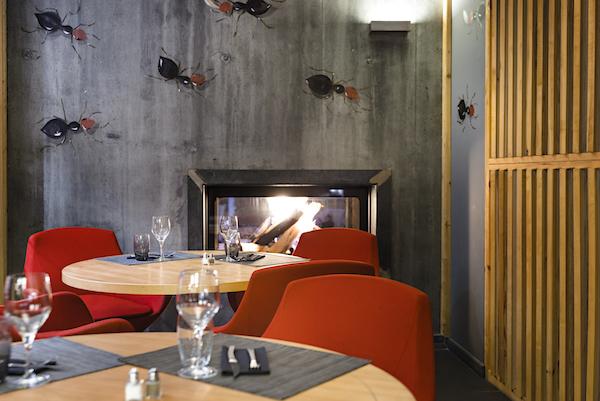 Anova berghotel Montgenèvre wintersport bergwandelen gezellig trendy hip