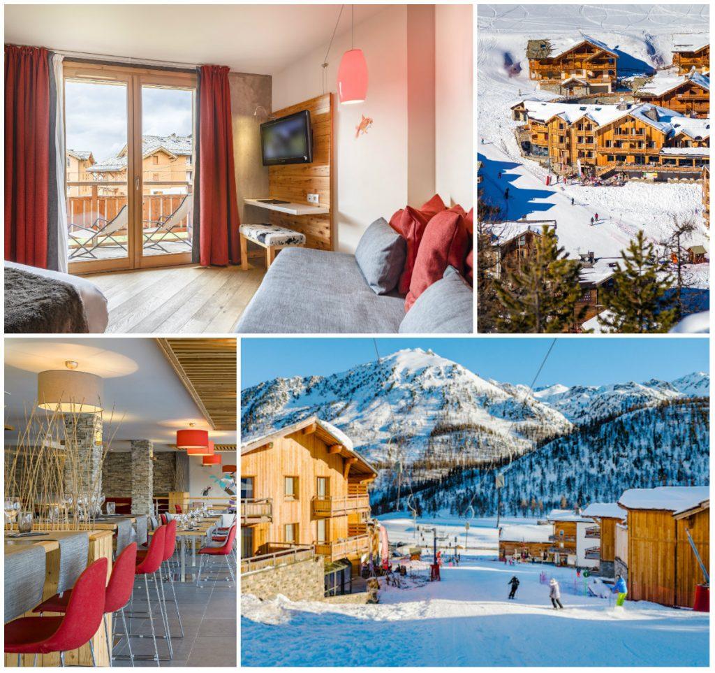 Anova berghotel Montgenèvre wintersport bergwandelen gezellig trendy hip sneeuw