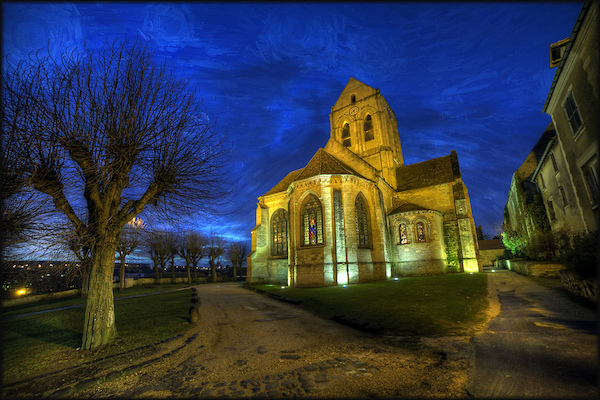 Kerk van Auvers sur Oise