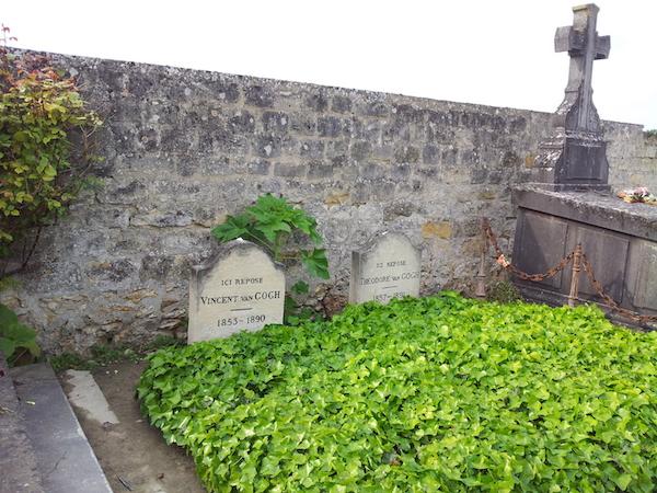 Graf van Gogh in Auvers sur Oise