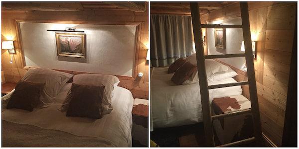B&B La Ferme des Vonezins Franse Alpen Haute-Savoie slaapkamer