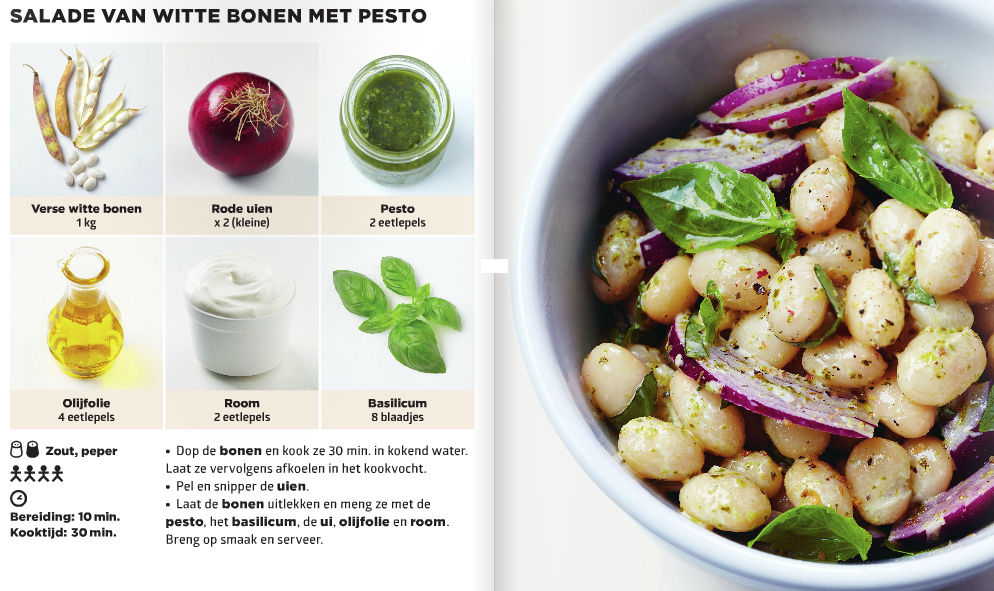 Frans kookboek bestseller 6 ingrediënten snel en makkelijk