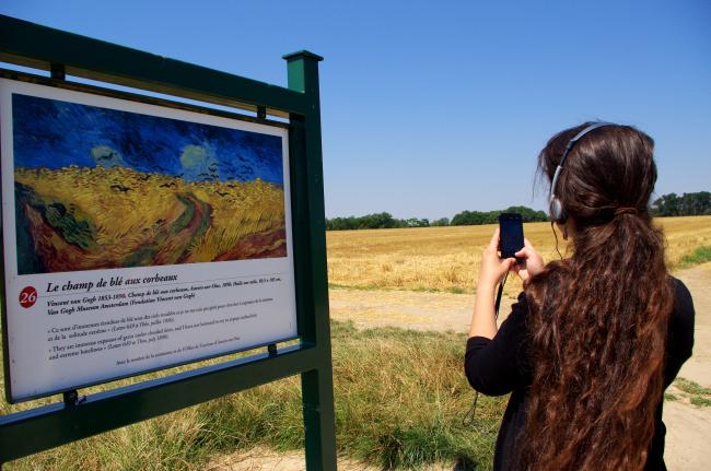 Graanvelden van Van Gogh