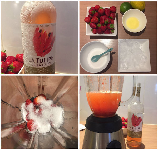 frose cocktail aperitief testen zomerdrankje rosé