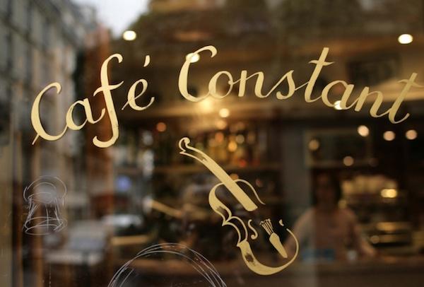 bistro's in Parijs leuke authentieke gezellig Café Constant