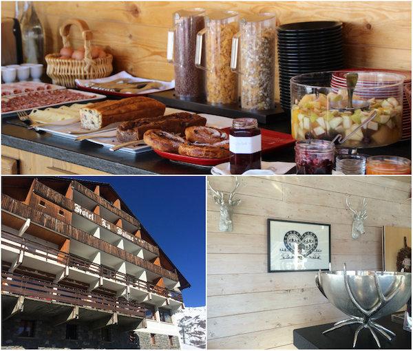 Chalet-Hotel La Balme in Saint Sorlin, skigebied van Les Sybelles
