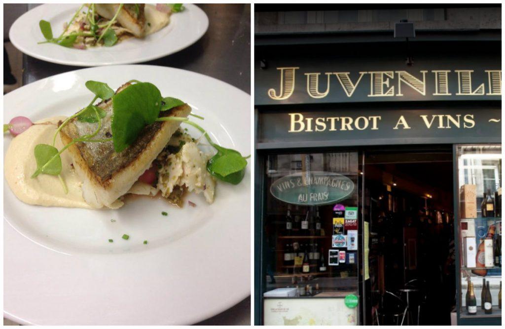 bistro's in Parijs leuke authentieke gezellige Juveniles