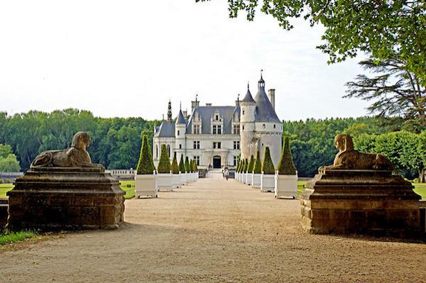Mooiste kastelen Frankrijk kasteel top10 - Château de Chenonceau (Loirevallei)