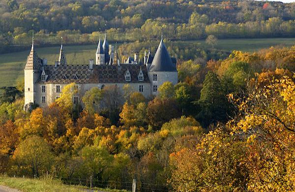 Mooiste kastelen Frankrijk kasteel top10 - Château de Rochepot (Bourgogne)