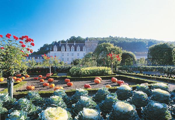 Mooiste kastelen Frankrijk kasteel top10 - Château de Villandry (Loirevallei)