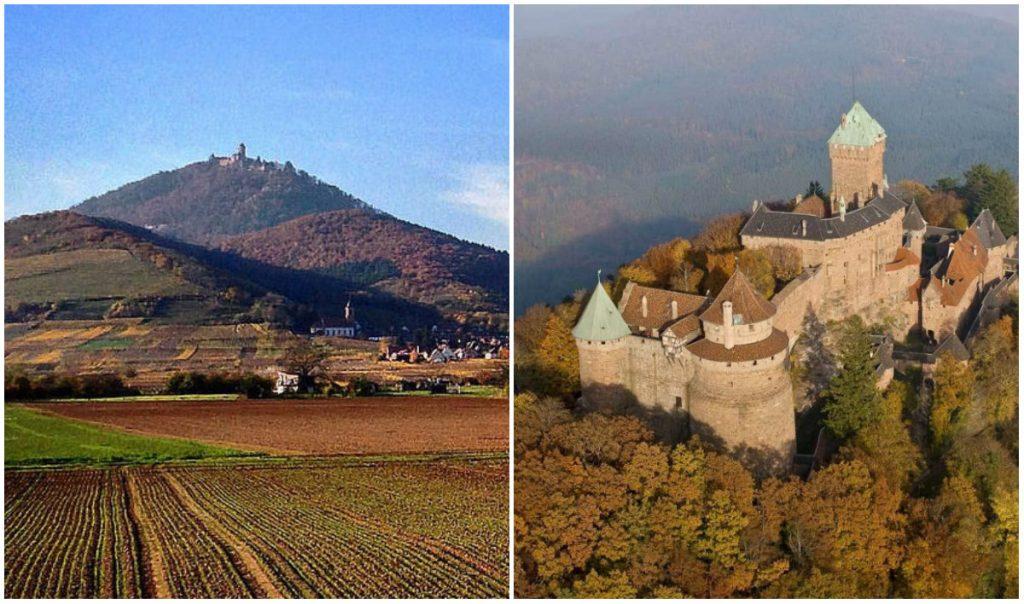 Château Haut-Koeningsbourg Elzas mooiste kastelen frankrijk
