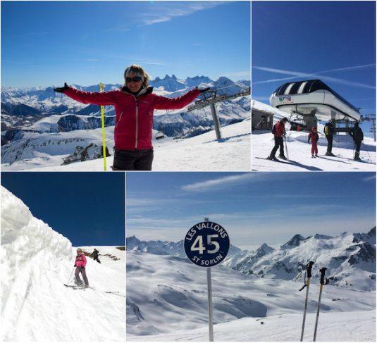 Josee in Les Sybelles, skigebied in de Franse Alpen