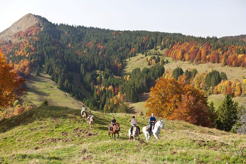 paardrijvakanties Jura Grand Huit Franche-Comté