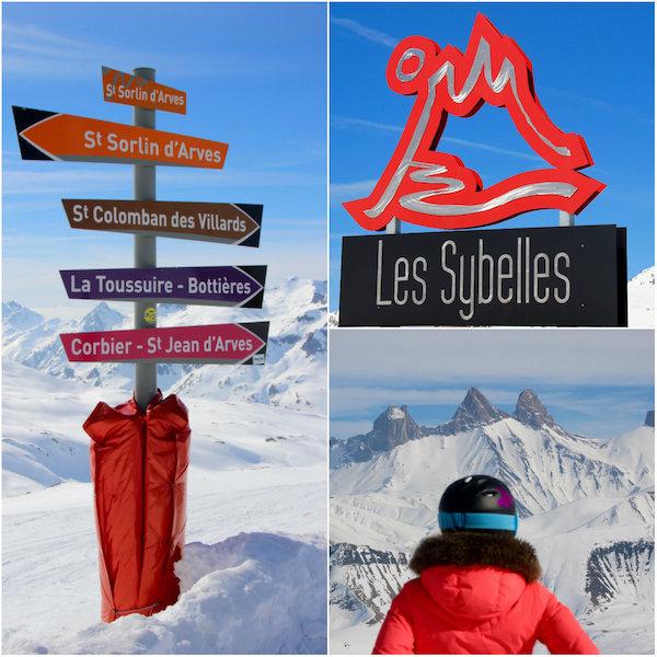 Skigebied Les Sabelles in de Franse Alpen