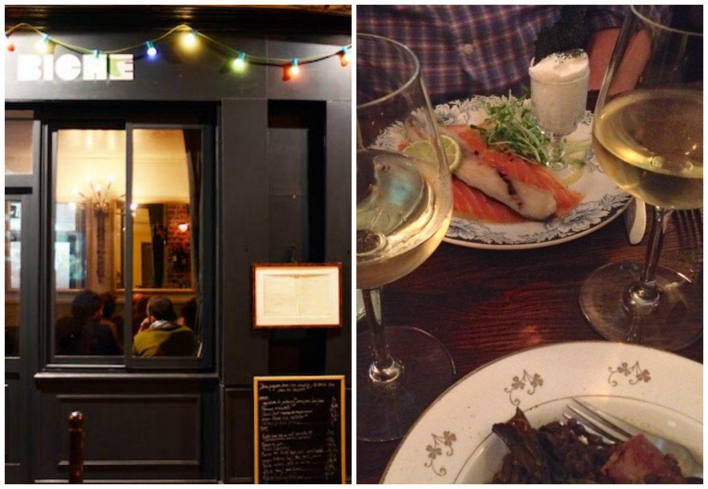 bistro's in Parijs leuke authentieke gezellige Ma Biche