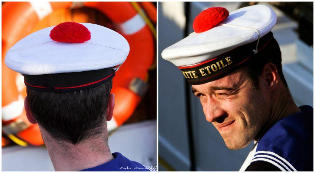 Frans bijgeloof pompon matroos marin national