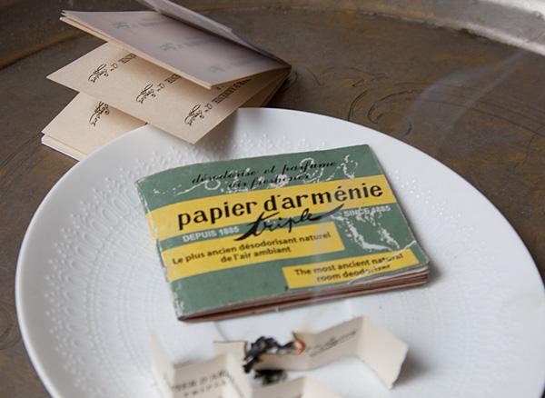 handige Franse huishoudmiddelen producten DIY Papier d Arménie