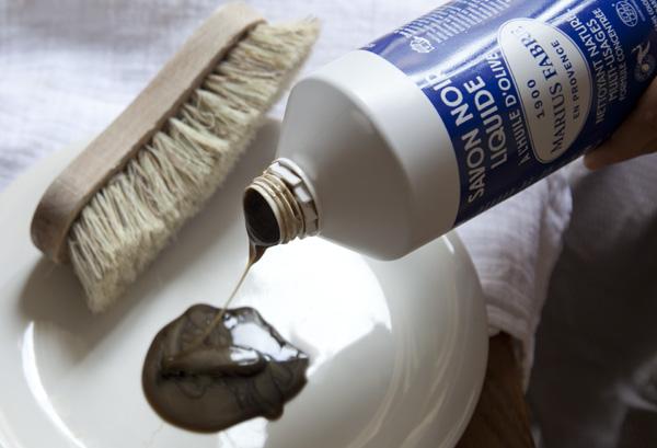 handige Franse huishoudmiddelen producten DIY Savon noir zwarte zeep