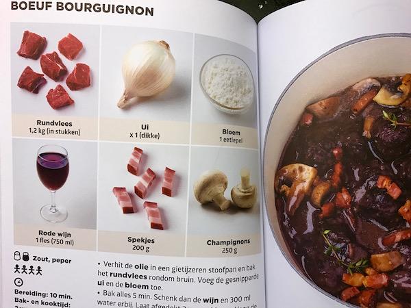boeuf-bourguignon uit het allermakkelijkste kookboek ter wereld