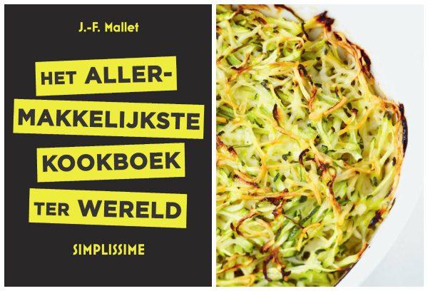 courgettegratin uit het Allermakkelijkste Kookboek ter wereld