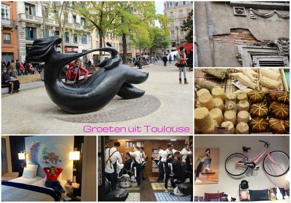 Josee doet de groeten uit Toulouse