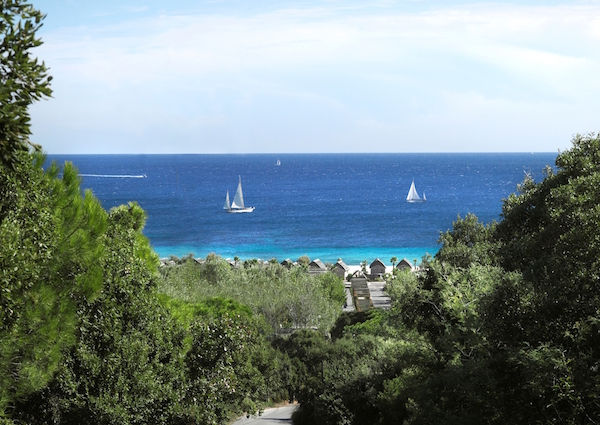 Panorama vanaf Kon Tiki vakantie resort