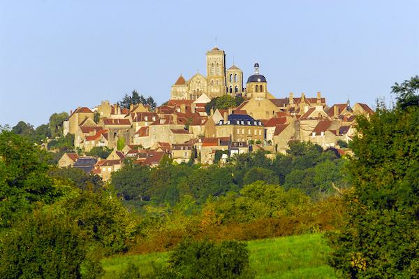 Vézelay Het mooiste dorp van de Bourgogne