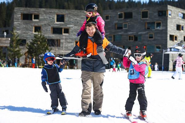 Wintersport met de kinderen