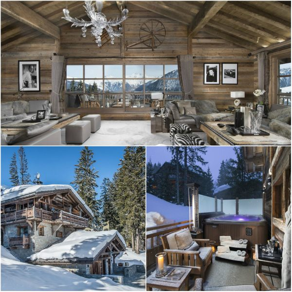 mooiste chalets van de Franse Alpen: Chalet-Grand Roche in Courchevel 1850