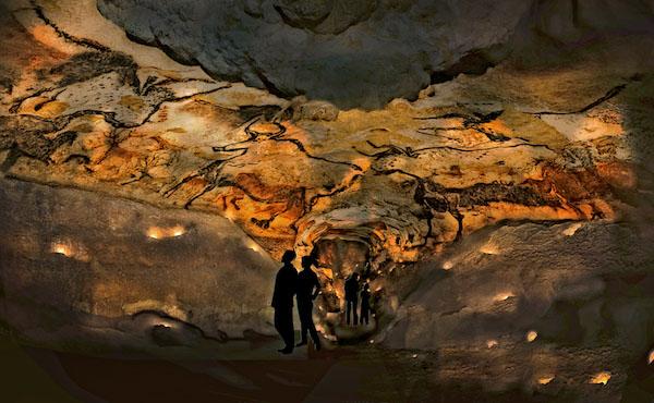 nieuwe grotten van Lascaux Dordogne Perigord