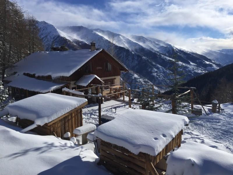 Le Grizzly gezellig pisterestaurant in Auron Zuidelijke Alpen