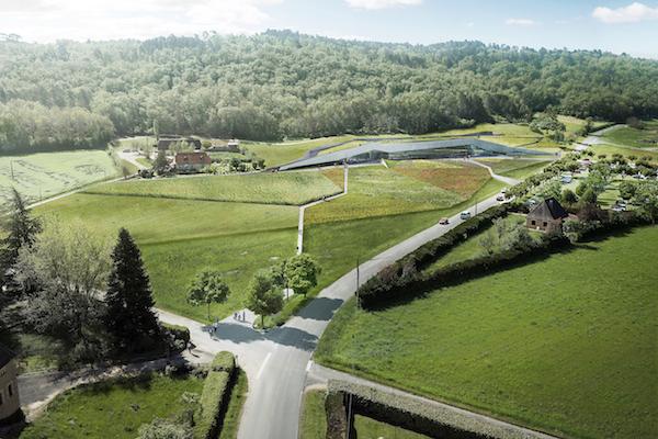bezoekerscentrum prehistorische kunst Lascaux IV Dordogne
