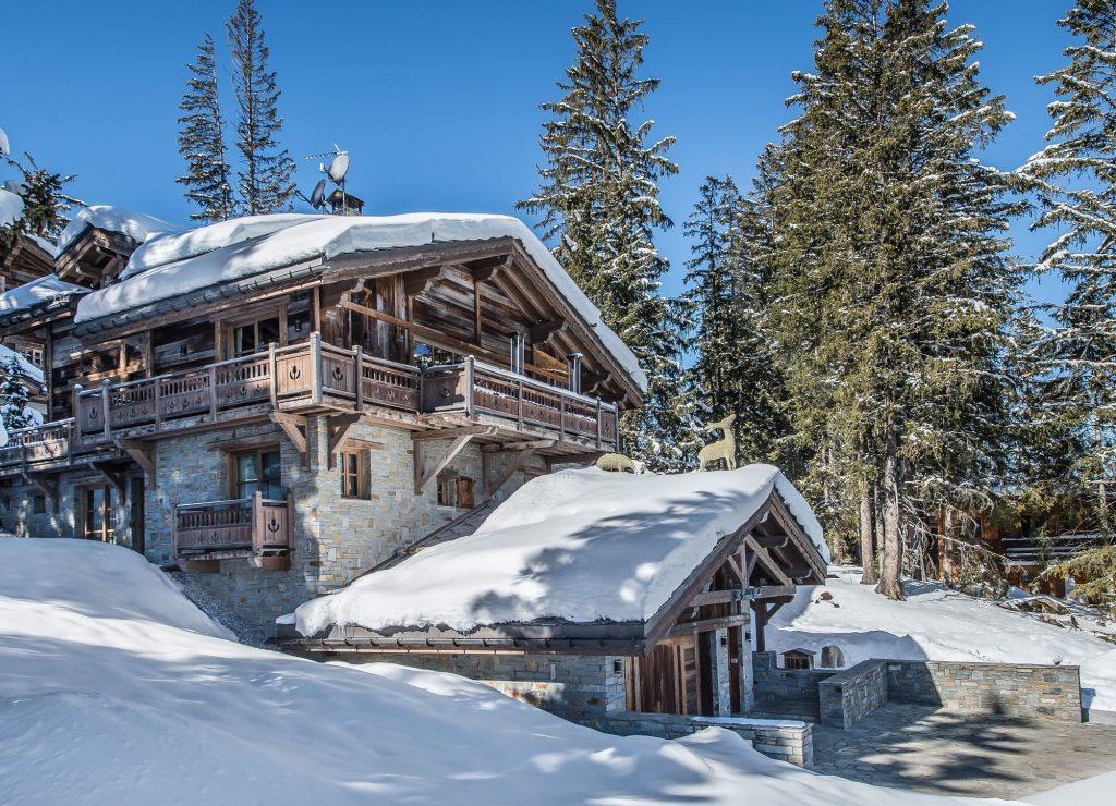 Mooiste chalets Franse Alpen Chalet Grande Roche Courchevel