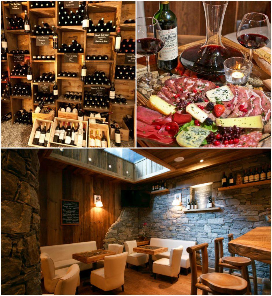 wijnbar in Morzine La Chaudanne