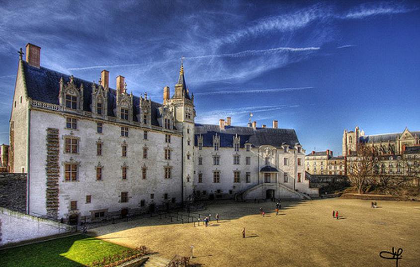 kasteel Nantes Ducs de Bretagne