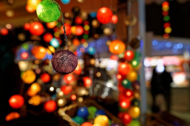 Kerstverlichting in Parijs