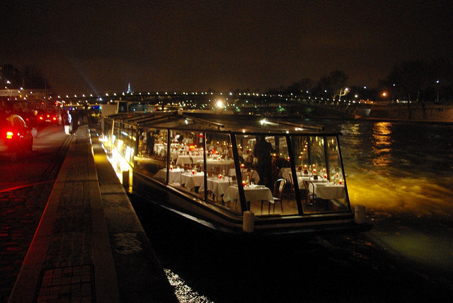 Dinner crsuise bootocht Seine Parijs