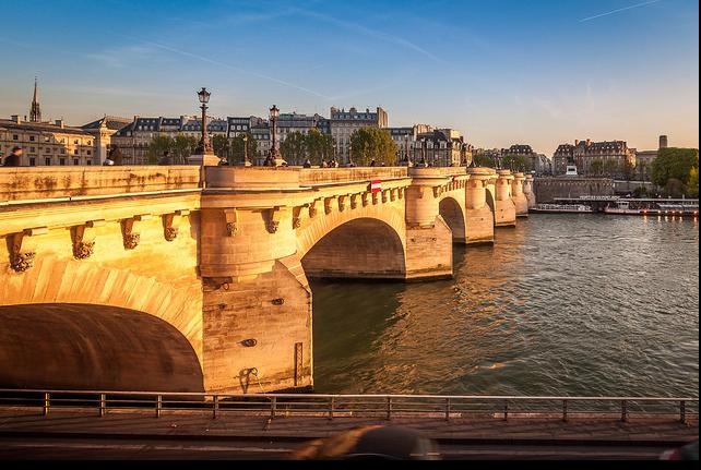 Parijs pont neuf Seine