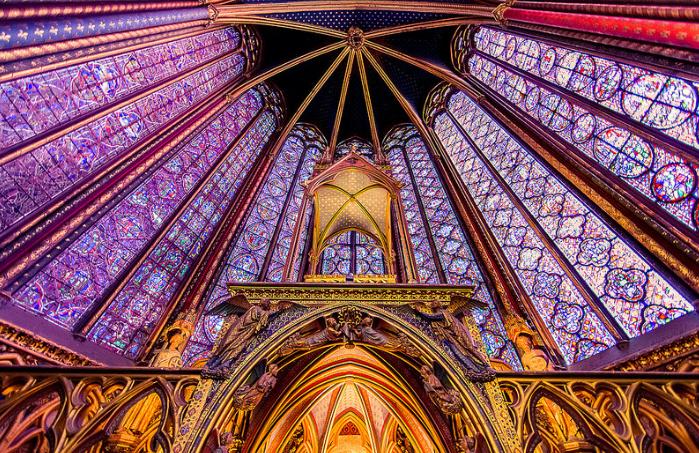 Sainte Chapelle Parijs attractie bezienswaardigheden