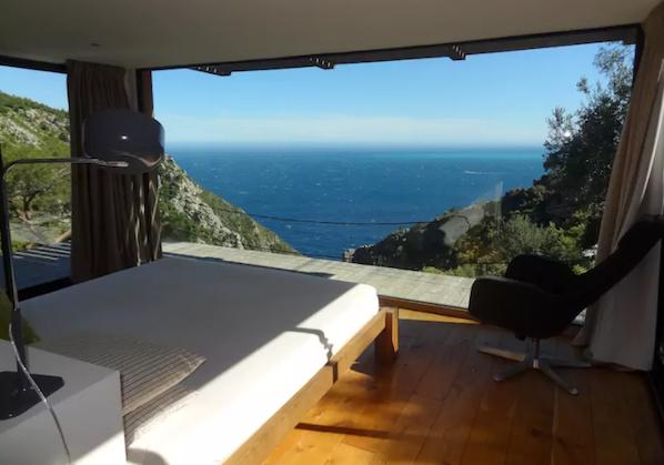 vakantiehuis in Zuid-Frankrijk met uitzicht op zee