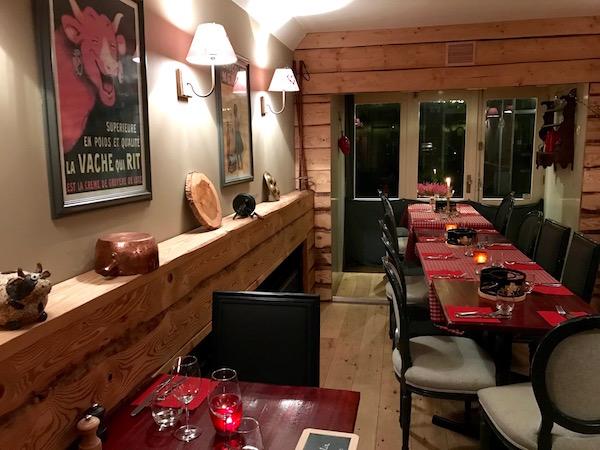 Bistrot des Alpes, Franse restaurant in de Utrechtsedwarsstraat