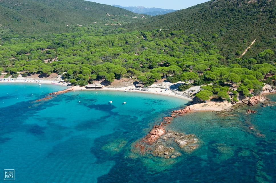 Mooiste exotische stranden Corsica