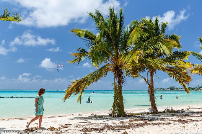 Mooiste exotische stranden Moorea
