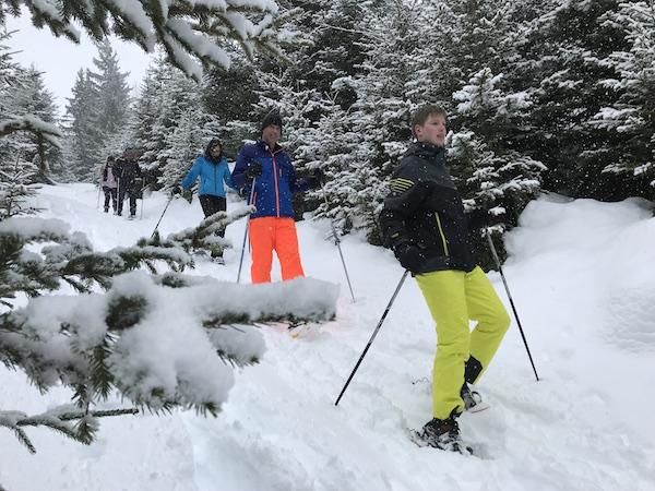 Sneeuwschoen wandeling Esprit Montagne