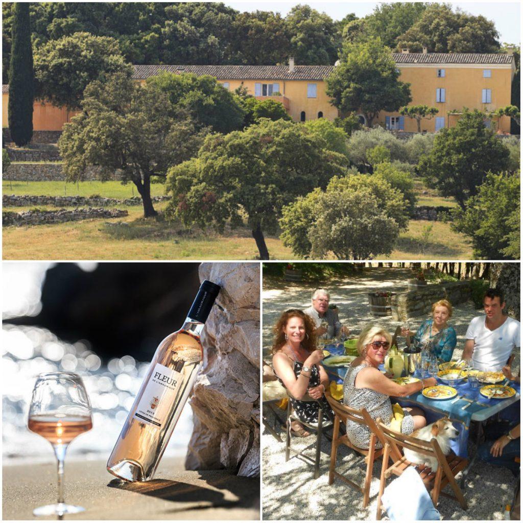 Amaurique rosé Provence Nederlands gezin wijmakers