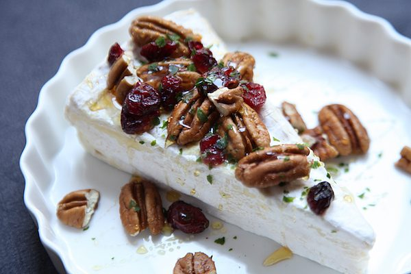 Franse kaas uit de oven brie canberry