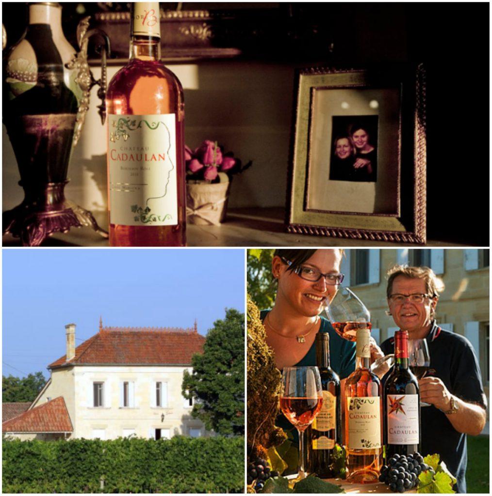 Bordeaux Nederlandse eignaresse wijnboer
