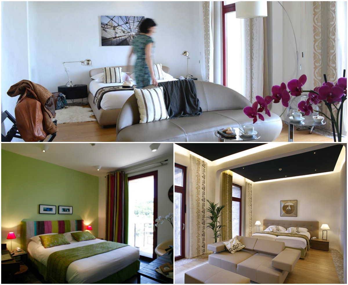 kamers ecohotel Riberach Languedoc Roussillon