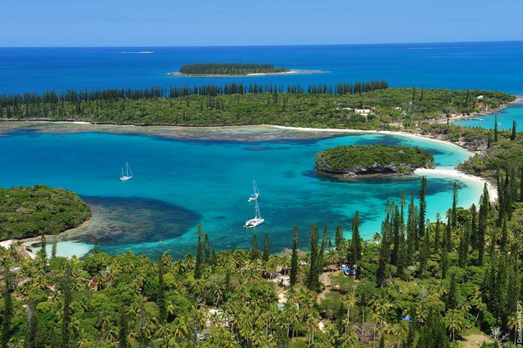 Mooiste exotische stranden Nouvelle Cqledonie